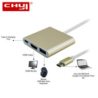 USB 3 1 Type C To HDMI USB 3 0 USB C HUB Adapter Type C
