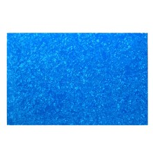 Yibuy 2.5mm 4Ply Guitar Bass Pickguard Blank Blue Pearl Color Pickguard Sheet