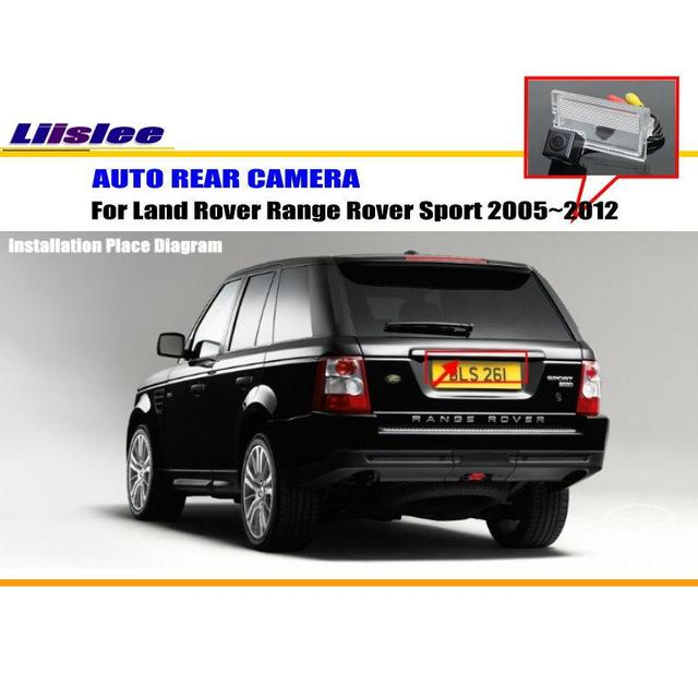 liislee car camera for land rover range rover sport 2005~2012 / rear