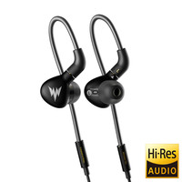 In Ear Headsets A15 Pro HiFi Bass Earphones Metal Dynamic Hi res Earbuds with MMCX Connector 3.5mm Sport Bass Earphones