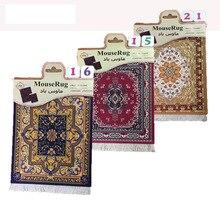 Mairuige персидский мини тканый коврик для мыши Ретро стиль ковер узор чашка коврик для мыши с Fring домашний офисный стол Декор Ремесло