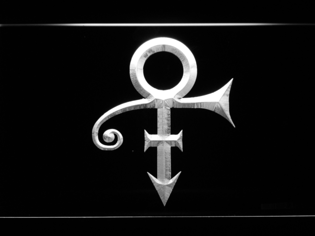 C199 Prince Symbol Led Neon Sign With Onoff Switch 20 Colors 5