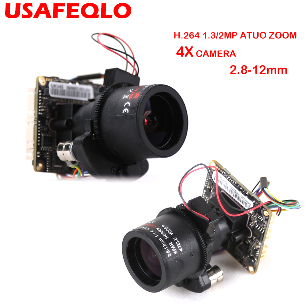 Auto Zoom 3X Motorized Zoom LENs 2 8mm 12mm Full HD 1080P 1 2 9 SONY