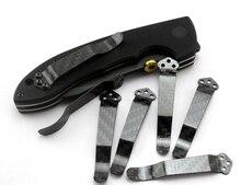 C81/710/551 Clip Pocket Carbon Fiber CQC EDC Knife Back 3K