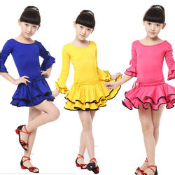 Обувь для девочек Рубашка с короткими рукавами Костюмы для латиноамериканских танцев платье для танцев детские карнавальные костюмы Дети