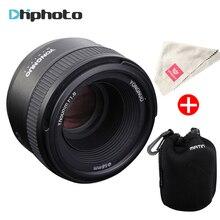 D'origine YONGNUO YN50MM F1.8 Grande Ouverture Auto Focus Lens pour Nikon DSLR, 50mm f1.8 objectif pour Nikon D3300 D5300 D5100 D750