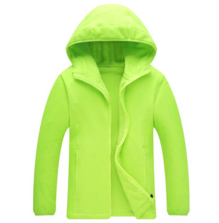 New Hooded  Long-sleeve Fleece Insede Candy Colour Jackets Softshell Jacket Camping Hiking Outdoor Sport Solid Warm Jackets