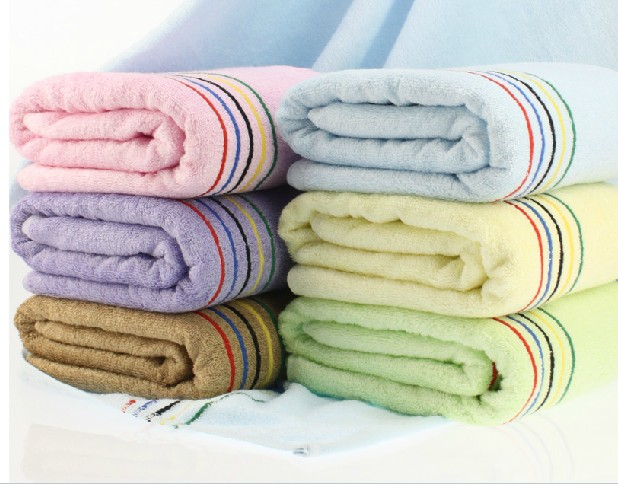 Free Shipping, 380G, Bamboo Fiber Bath Tower, Eco-friendly 70cm*140cm,organic And Anti-bacterial Bamboo Towel,Quick-Dry