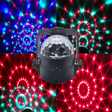 3W RGB crystal magic ball soundlights DJ disco party music ball light laser light projector stage effect lighting