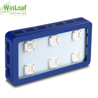 LED grow light full Spectrum Bestva X6 Dimmable 1800W For Hydroponics Greenhouse Tent Plants Veg and Bloom (blue case)