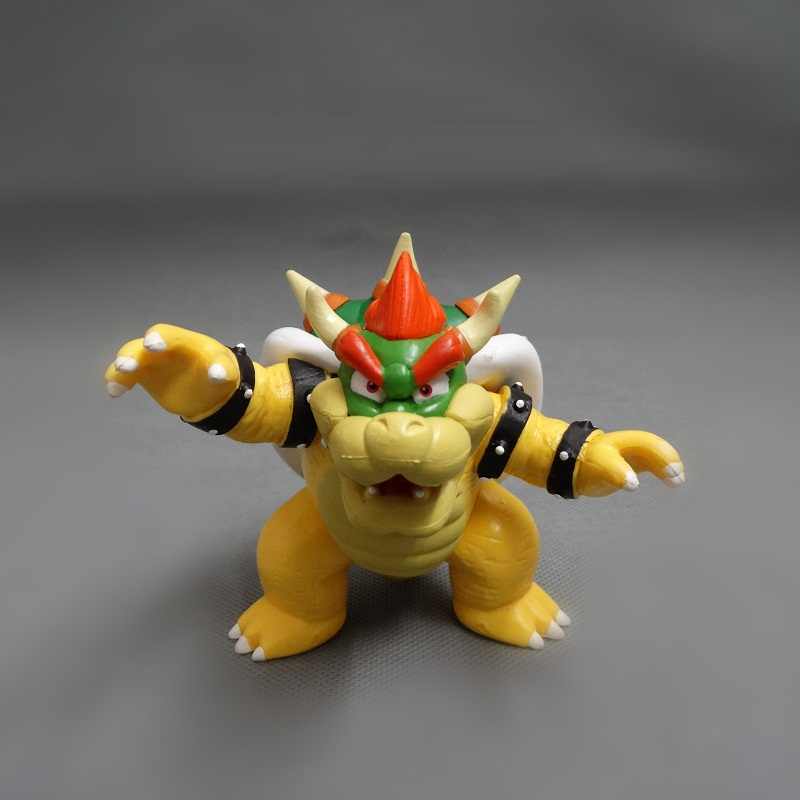 Animation Garage Kid Super Mario Bros Collection Toys: Action Figure PVC  Dolls Boss Fiery Dragon Bowser Decoration Best Gifts