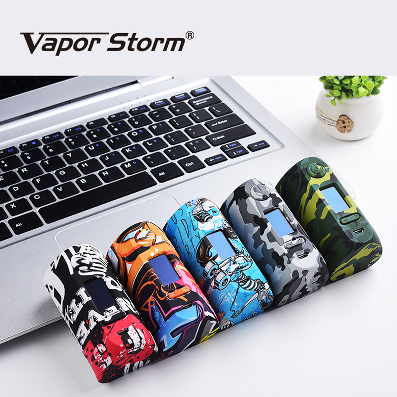 цена Vapor Storm Storm230 Bypass 200W VW TC Box Mod Vapes Fashion Mod E Cigarette Support Dual 18650 Battery RDA RBA RDTA VAPE