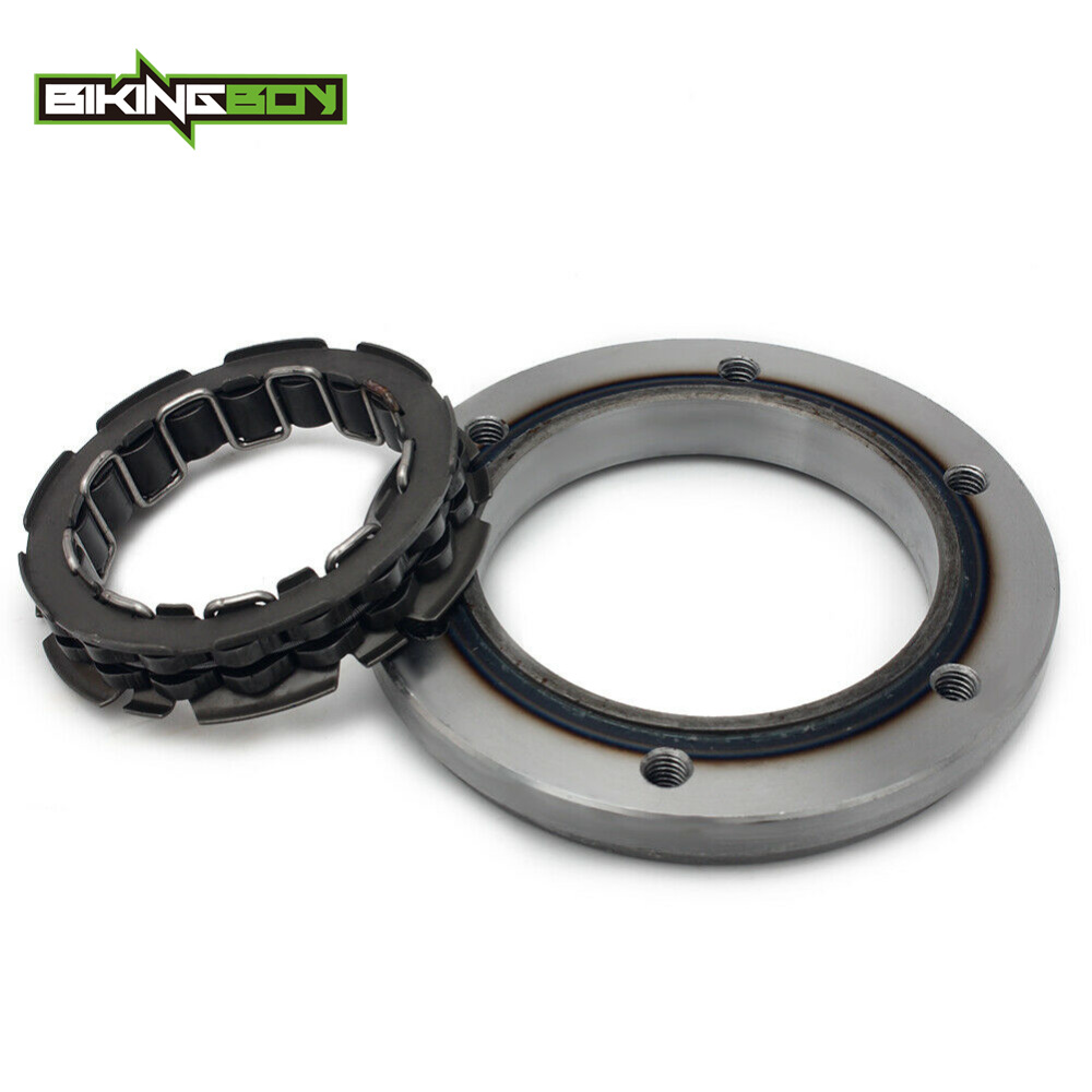 BIKINGBOY For Suzuki Quadracer LTR 450 2006 2007 2008 2009 LT-R 450 Starter Clutch One Way Bearing Motorcycle Parts Replacement