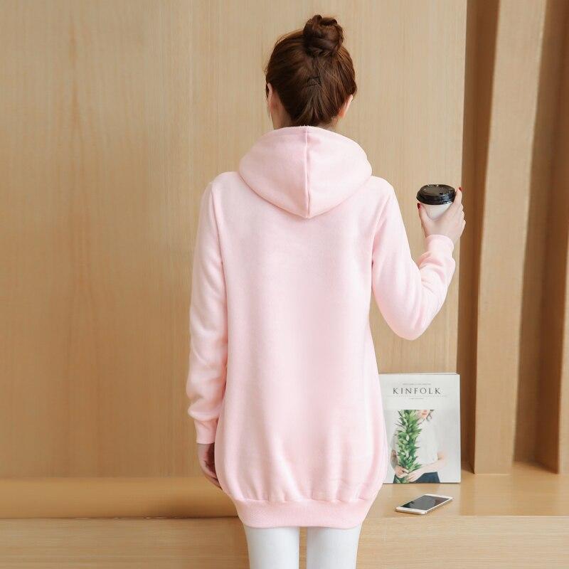 ce9c558ed Cat Lovers Hoodie Women Cuddle Pouch Dog Pet Pink Hoodies Casual Kangaroo  Pullovers with Ears Sweatshirt Fleece Jacket E0247-in Hoodies & Sweatshirts  from ...