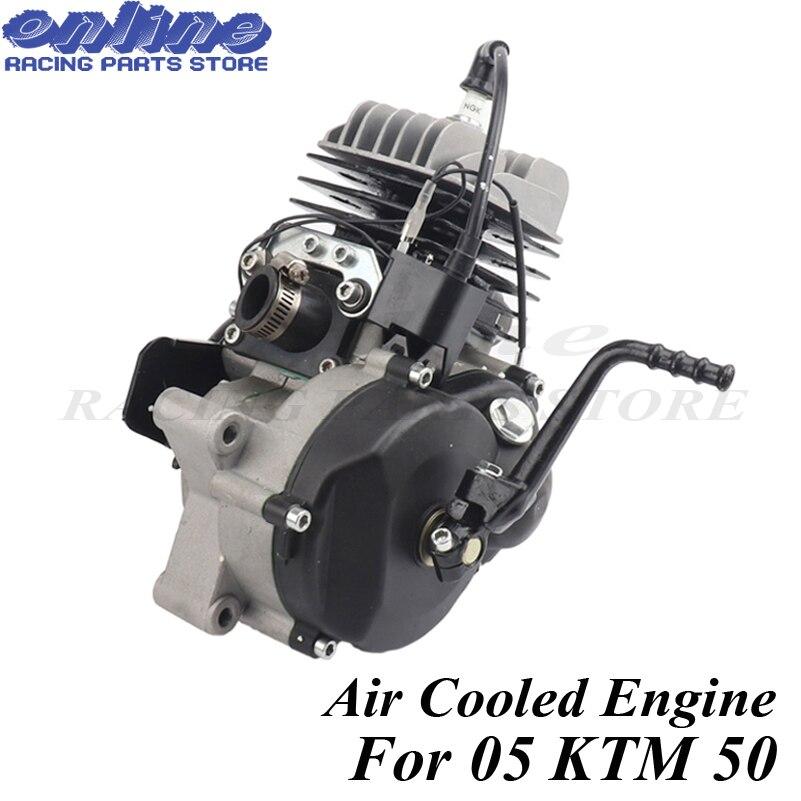 Двухтактный двигатель с воздушным охлаждением 47CC 49CC для 05 KTM 50 JR SX 50 SX PRO SENIOR Mini ATV Dirt Pit Cross Bike