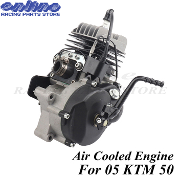 Dos tiempos refrigerado por aire motor 47CC 49CC para 05 KTM 50 JR SX 50 SX PRO superior Mini ATV suciedad Pit Cruz bicicleta