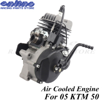 Two stroke Air cooled engine 47CC 49CC for 05 KTM 50 JR SX 50 SX PRO SENIOR Mini ATV Dirt Pit Cross Bike