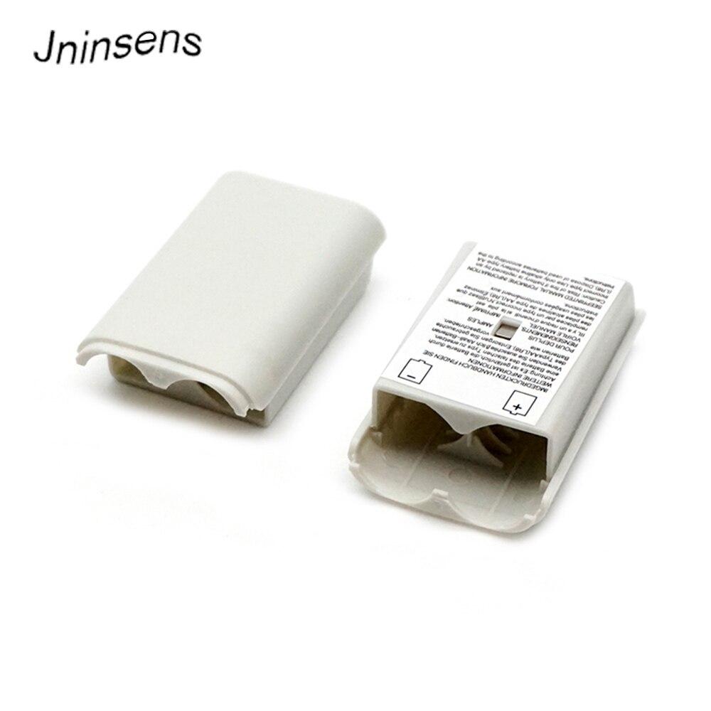 2 Pcs Batterie Pack Abdeckung Fall Tür Shell Schild Kit Fach Ersatz Für Xbox 360 Xbox360 Wireless Controller Schwarz/ Weiß
