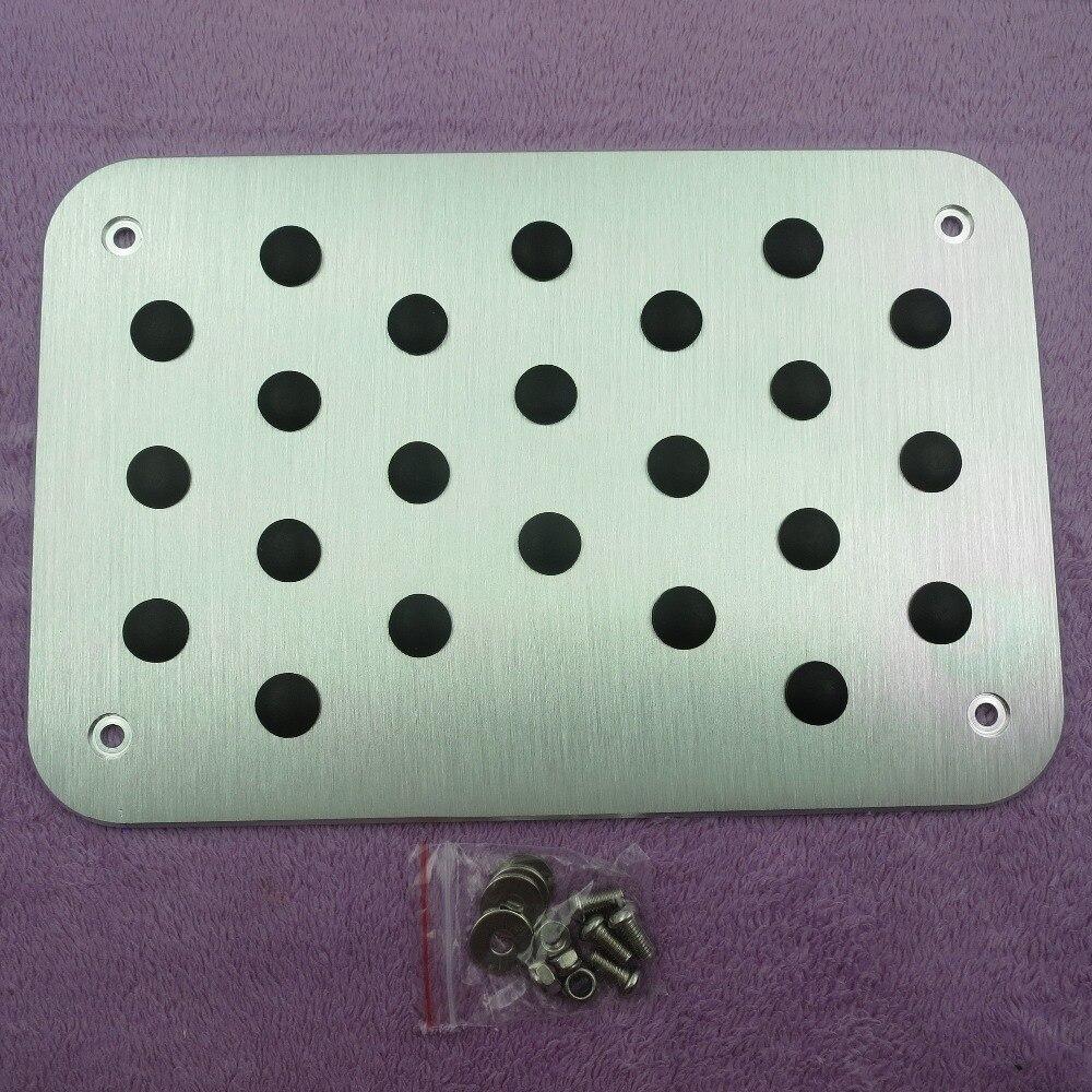 Zelfverzekerd Dee Voor Peugeot 206 207 208 301 307 408 308cc 508 607 2008 3008 4008 Universele Vloer Tapijt Mat Pedaal Pad Footrest Plaat Sticker