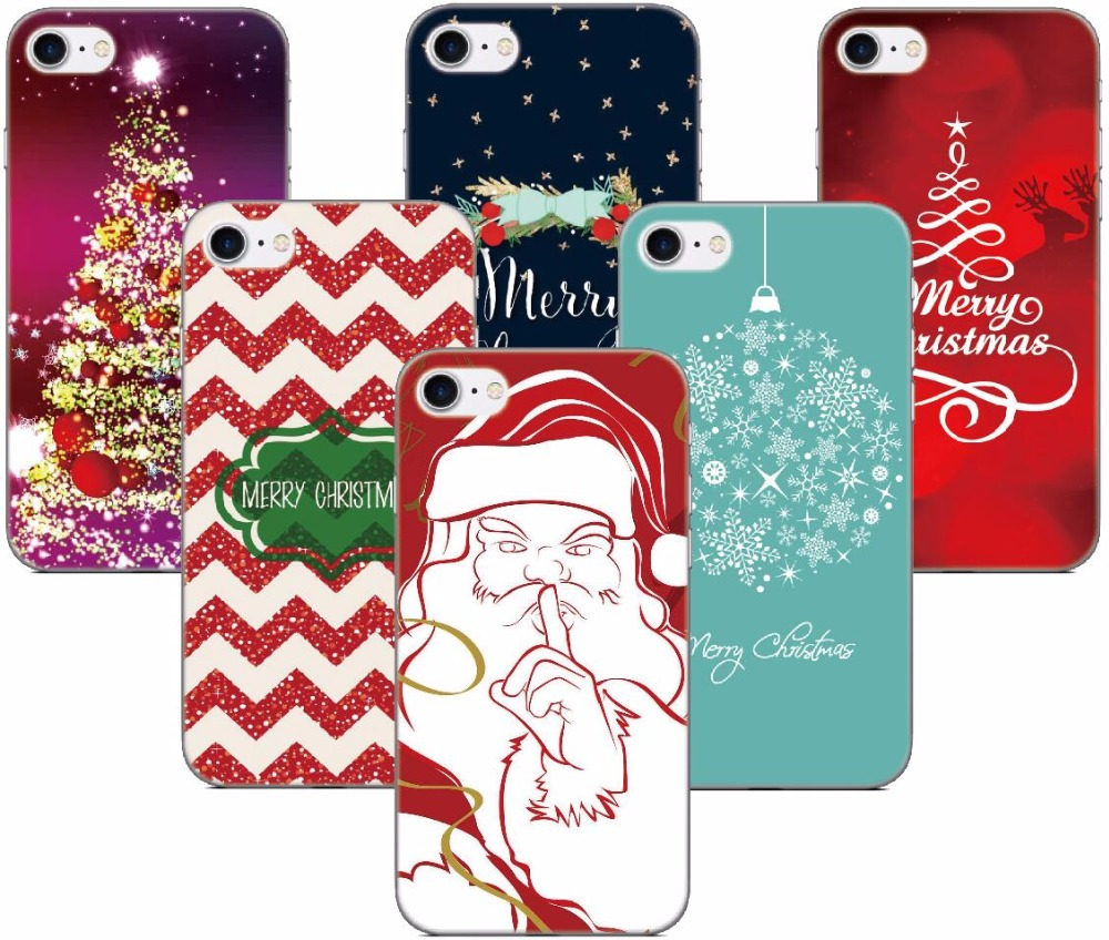 Gift Merry Christmas Happy New Year 2019 Cover For Samsung Galaxy S3 S4 S5  Mini S6 S7 Edge Cell Phone Case Coque Fundas