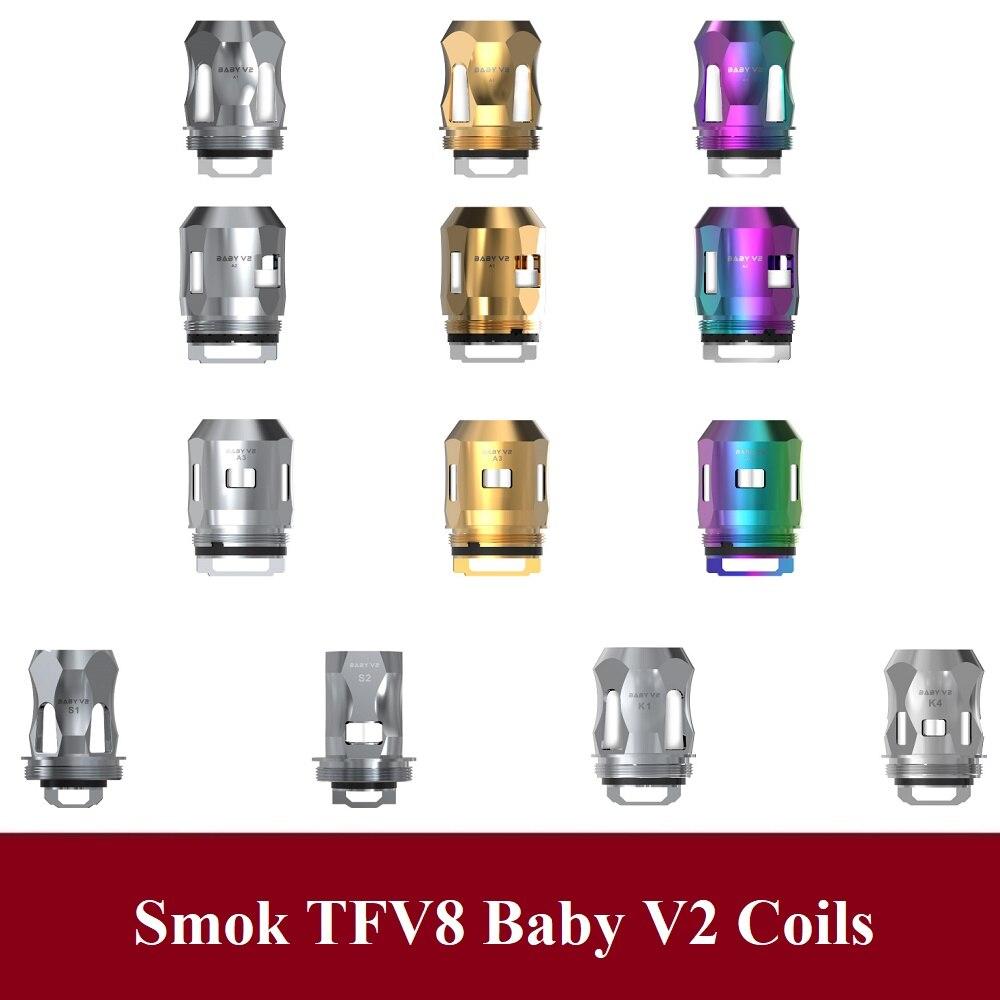 gai ORIGINAL Smok Coils TFV8 Baby V2 Atomizer Core A1 A2 A3