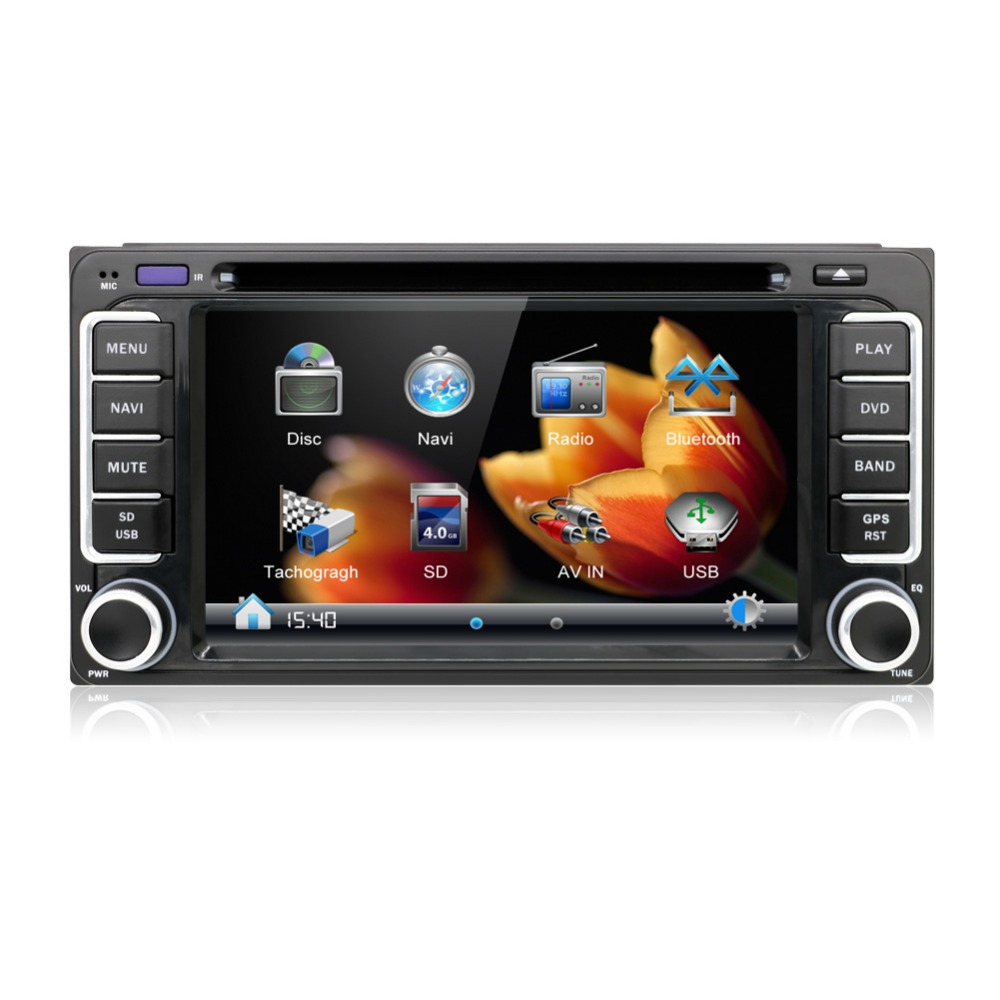 200 100 Car Dvd Radio Stereo Video Player Gps For Toyota