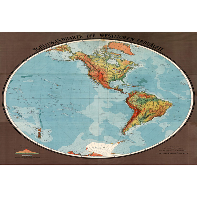 Top Sale Teaching Design World Map Home Decoration Paintings Wall ...
