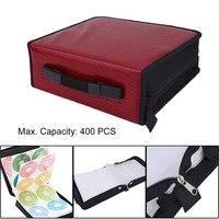 Capacity 400 Disc CD DVD Storage Bag Disc Organizer Holder Media Carry Box Case Portable Wallet Cover Bag Drop Shipping
