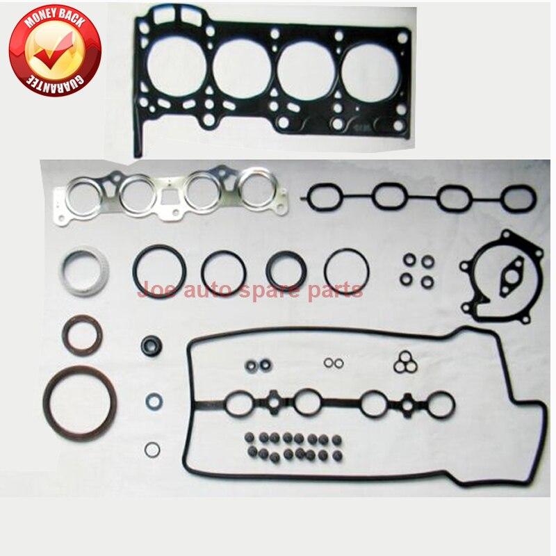 1SZ 1 SZFE двигатель полный комплект прокладок Комплект для Toyota YARIS/VITZ ECHO хэтчбек 1.0L 16 В 99-05 50176800 04111-23040 04111-23050