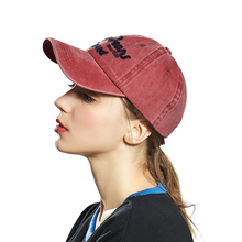 Washed Cotton Women Baseball Cap Embroidery Snapback Hat Summer Cap Hip Hop Fitted Hats For Men