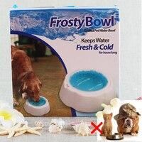 Isolation Pet Chien Chat Alimentaire Frais Rapide De Refroidissement Bols Vitesse Froid Bols Pet Glace Glacial Bol