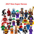 1 UNID Super Heroes Batman Película Conjunto Mini Harley Quinn Harley Quinn Joker Robin figura Building Blocks Juguetes Compatible con Lepin