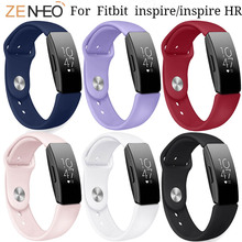 Womens Bracelet Silicone watch straps For Fitbit Inspire HR/Inspire Wristband Mans Watches Band Replacement