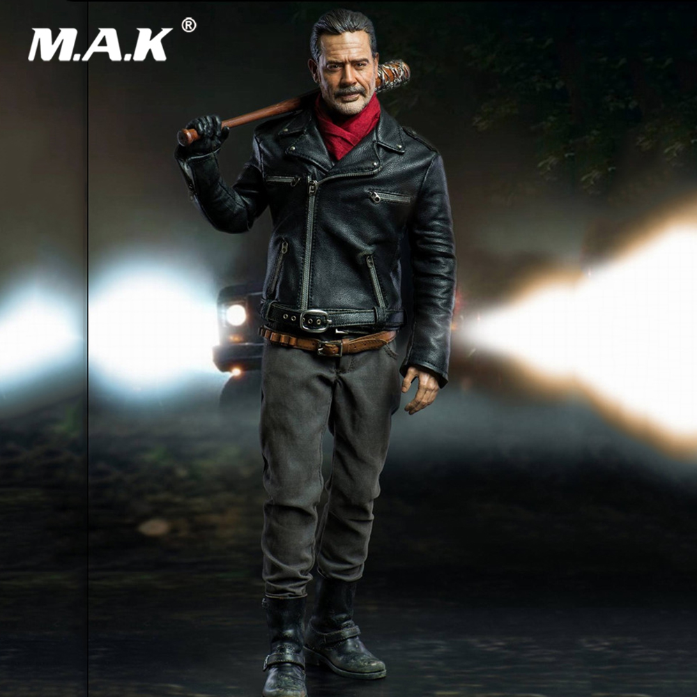 For Collection 1/6 Scale Full Set The Walking Dead Negan 12'' Action Figure Set 30.5cm Model for Fans Gifts