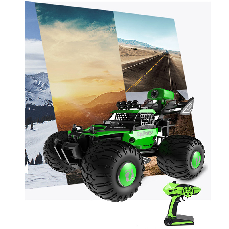 Drift Video RC Vehicle Video RC Racing Premium Camera RC Car 1/28 WIFI Control 480P HD Off-Road Kids Toys Real Time Video Smart image
