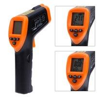 LCD El Sigara İletişim Lazer Kızılötesi Termometre Dijital Sıcaklık Kızılötesi Termometre Kızılötesi Termometre
