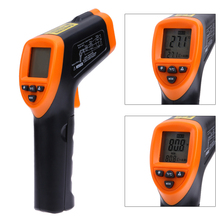 Big sale LCD Handheld Non Contact Laser Infrared Thermometer Digital Temperature Infrared Thermometer Infrared Thermometer