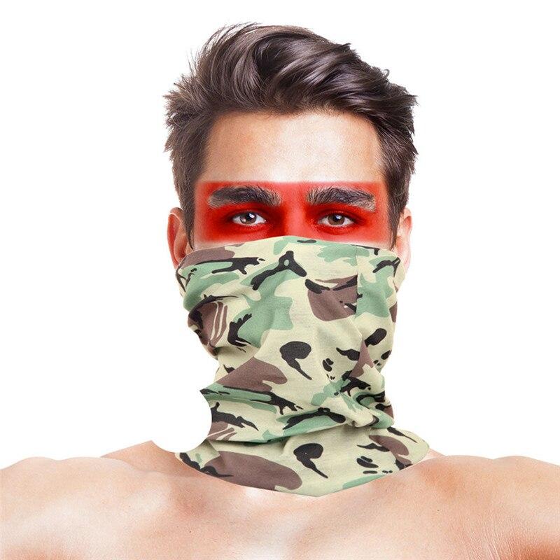 3D листья носовые платки с принтами Для женщин шарф полиэстер микрофибра шеи маска для лица бандана Для мужчин повязка-труба платок - Цвет: 027