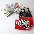 2015 visa credit card holder genuine leather business women wallet book ID case cardcase porte carte namecard sheet cardholder