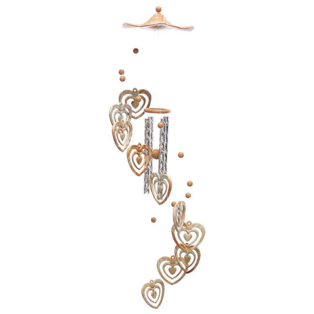 DIY Творческий ветер мобильный куранты колокол сад бабочек веранда украшения