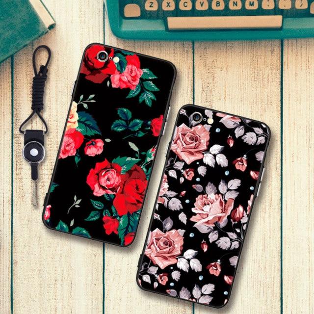 coque a fleur iphone 7 plus