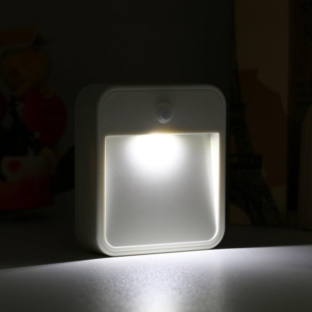 0,5 Watt Bewegung & Lichtsensor Wandleuchte Infrarot Aktiviert Leuchtdioden Led Bewegungsmelder Nachtlicht üBereinstimmung In Farbe