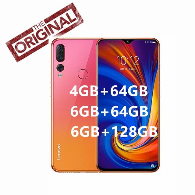 "Original Lenovo Z5S L78071 Cell Phone Octa-core AI Three Cameras Snapdragon 710 ZUI 10.0 4G FDD LTE 6.3""FHD+ 2340x1080 Android P"