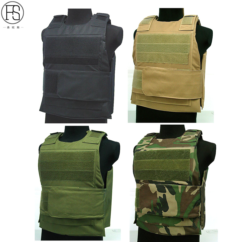 Tactical Hunting Vest Military Molle Carrier Outdoor Field Battle Colete Airsoft Combat bulletproof Army vest in Hunting Vests from Sports Entertainment