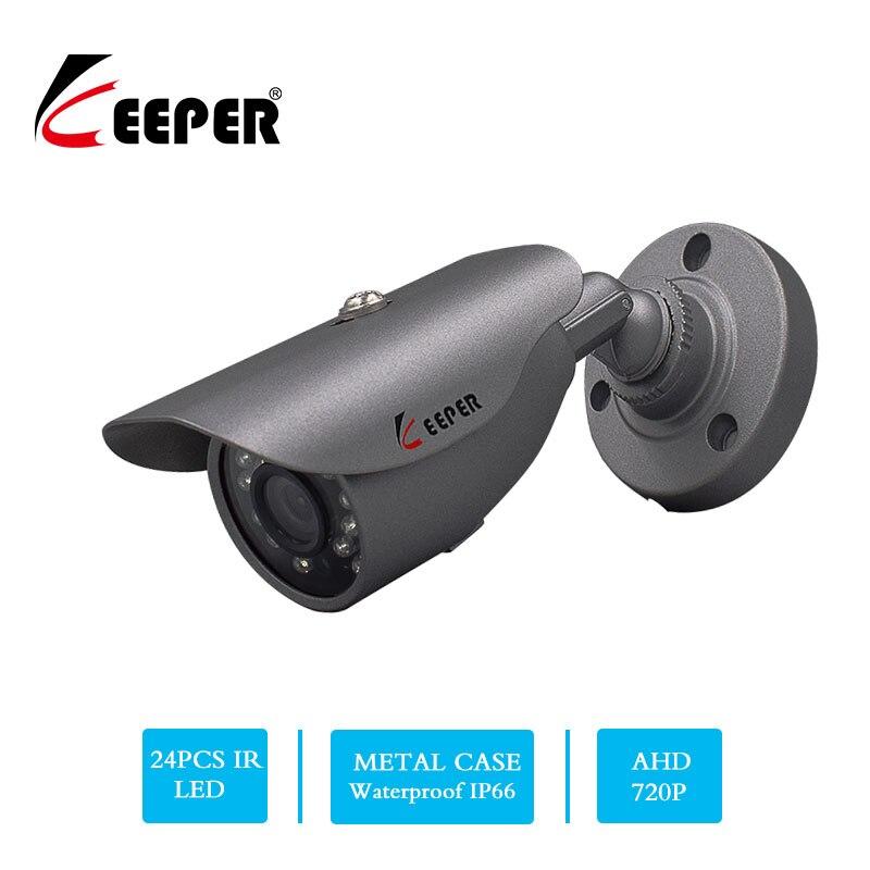 Keeper AHD Analog High Definition Surveillance Camera 1.0MP 720P AHD Security Waterproof Bullet CCTV Camera night version IR Cut