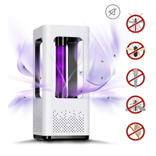 Mosquito Killer Lamp Trap USB Photocatalyst Safe Chemical-Free UV Physical Super Silent Indoor for Home