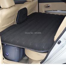 De alta calidad negro Offroad coche cama Inflable Inflable de Viaje asiento sofá al aire libre espesar al aire libre coche colchón colchón