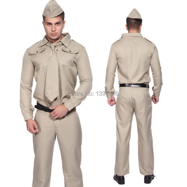 1940s WW2 Armed Forces American Gi U.S Soldier Uniform Fancy Dress Army Costume  sc 1 st  AliExpress.com & 1940s WW2 Armed Forces American Gi U.S Soldier Uniform Fancy Dress ...