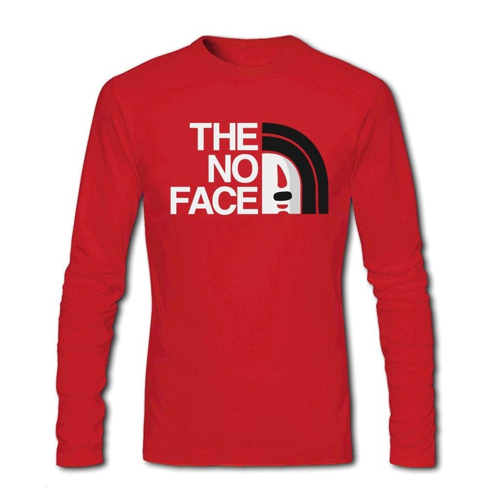 2018 T-Shirt Men The No Face Spirited Away Mask Quilt Tees Shirt Men Clothing T Shirt Tops Plus Size - intl
