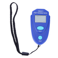 Paint Thickness Tester Digital Thickness Gauge Coating Meter Car Thickness Meter Russian Manual NG4S